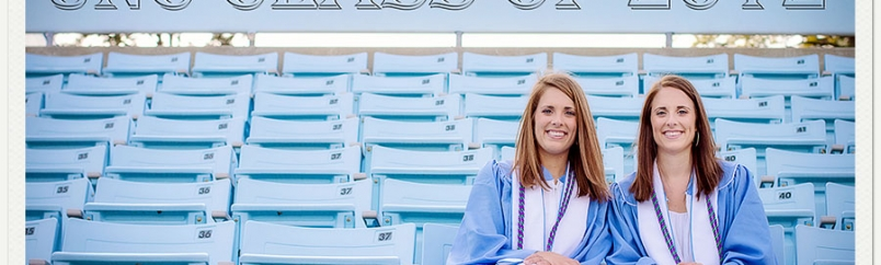 Emily and Erin: UNC Graduation Portraits