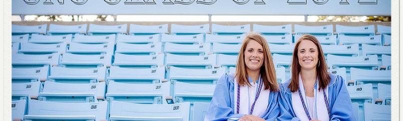 Emily and Erin: UNC Graduation Portraits