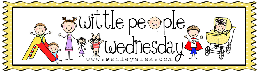 Wittle People Wednesday: Red and White Stripes