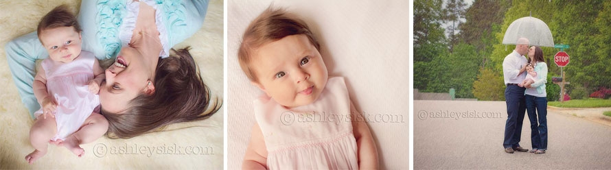 Bellamy: Three Month Portrait Session Preview