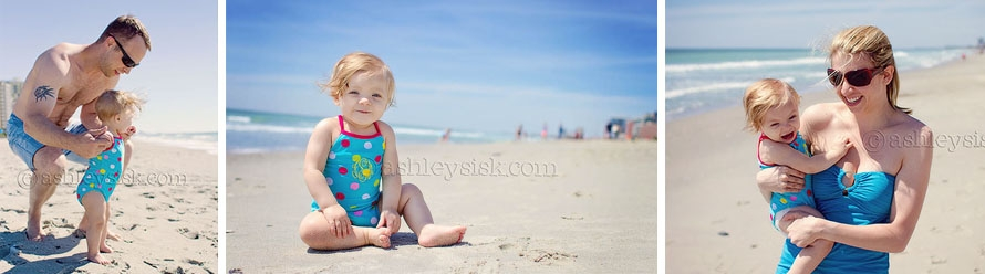 Wittle People Wednesday: Day at the Beach