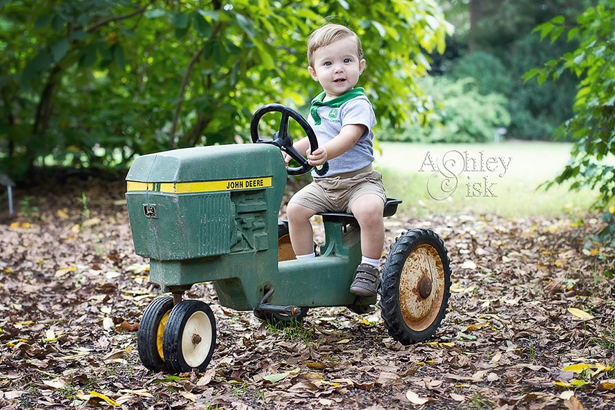 Child Portrait, Tractor