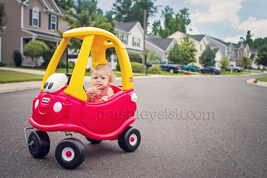 Felicity and the Cozy Coupe RS