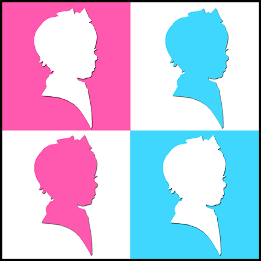 Felicity Silhouette Pop Art