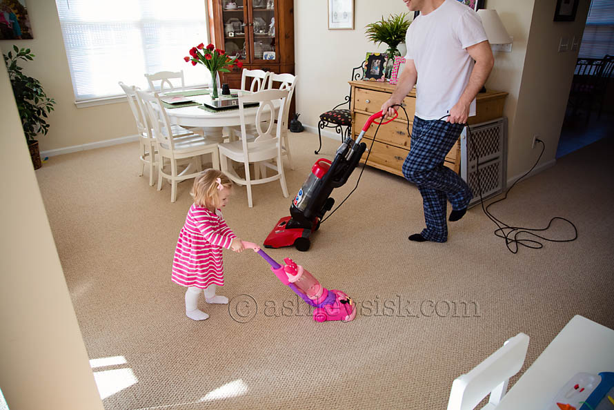 Cleaning Like Daddy 3 RS