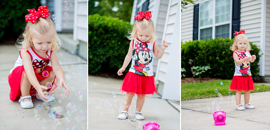 Minnie Mouse Outfit Collage