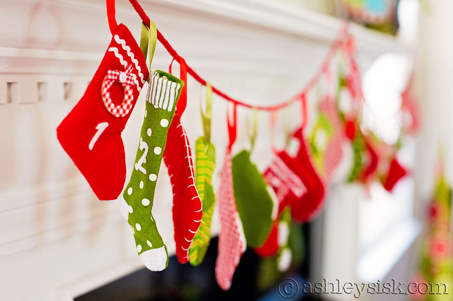 Stocking were hung RS