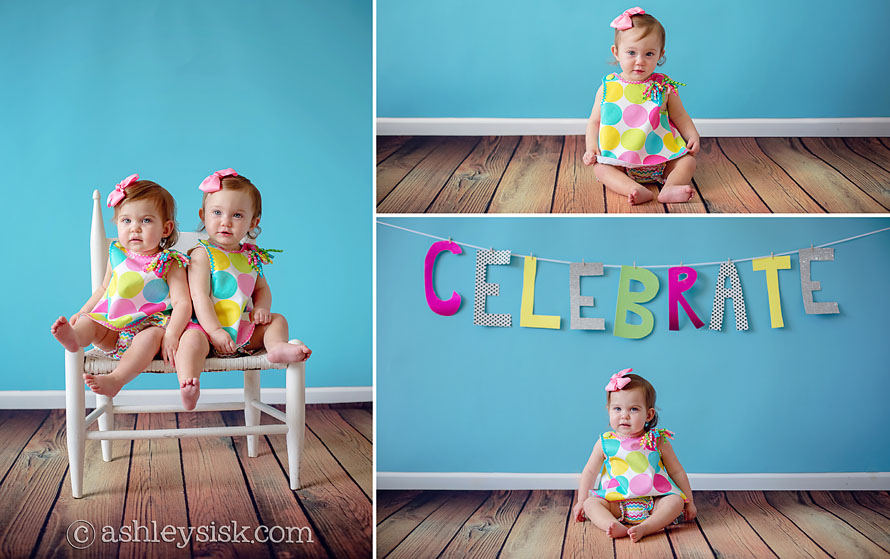 Pulliam Twins 1st Birthday Portraits_14 RS