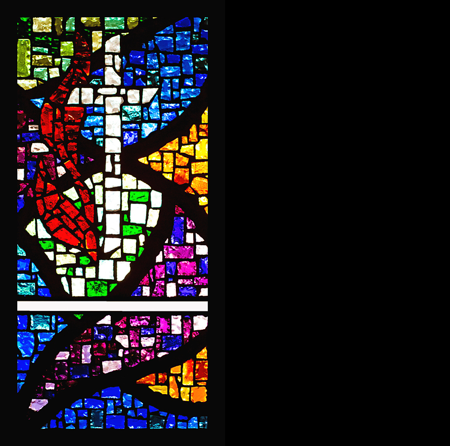 Janie Stain Glass ART RS